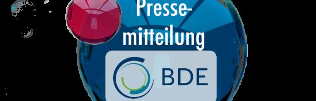 BDE: Richtfest in Tiergarten – BDE-Neubau im Sommer bezugsfertig