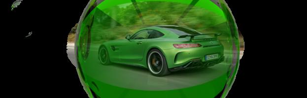 Recycelte Carbonfasern verstärken Mercedes AMG GT R